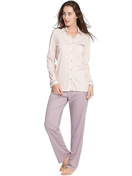 Calida Pyjama Puerto Rico-Pijama Mujer nirvana purple Large