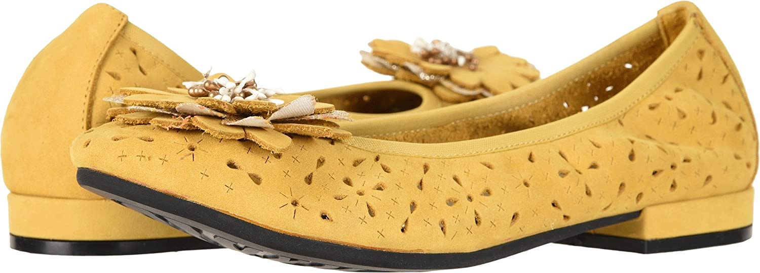 David Tate Womens Heart B074KHQBS1 7.5 AA US|Mustard