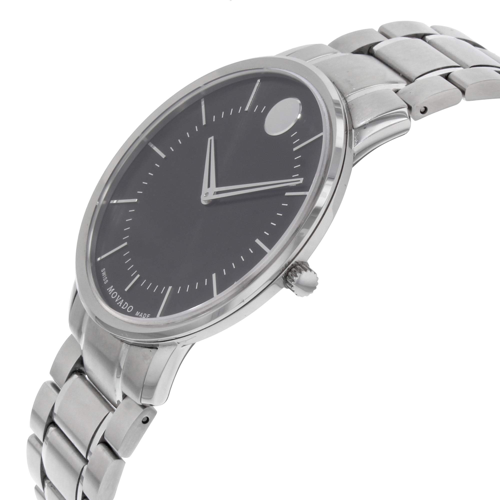 Movado Classic Quartz Male Watch 0606687 (Certified Pre-Owned) by Movado (Image #3)