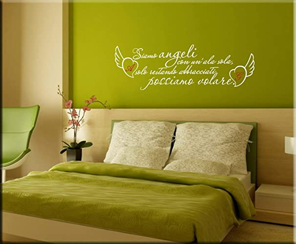 Decorazioni Murali Camera Da Letto : Adesivi da parete camera da letto personalizzati adesivi murali