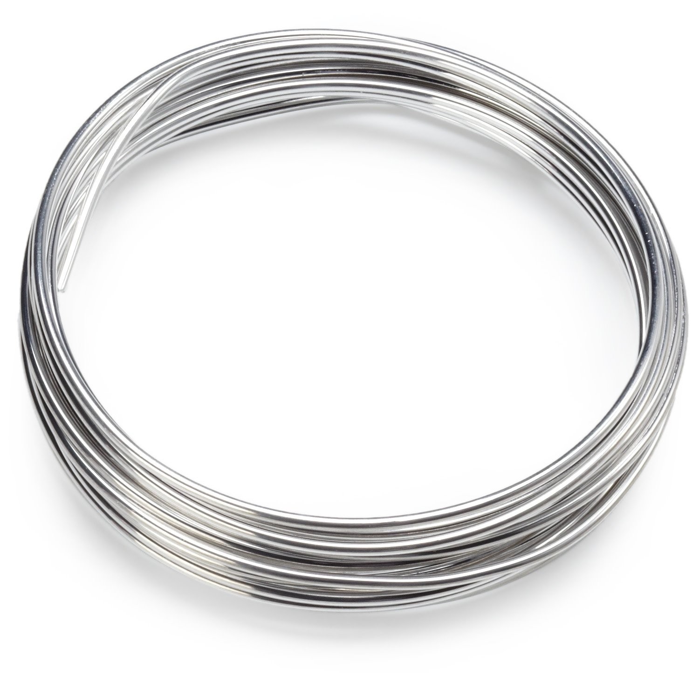 Knorr Prandell 6464009 Aluminiumdraht, 2 mm Durchmesser, blank ...