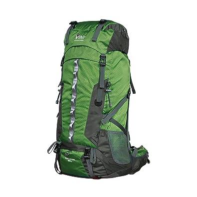 a507458778dd Vihir 登山リュック 60L リュックサック 大容量 登山用ザック バックパック 撥水 耐久