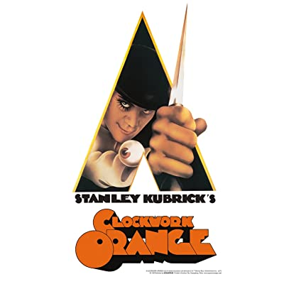 Aquarius A Clockwork Orange Knife Tin Sign: Toys & Games