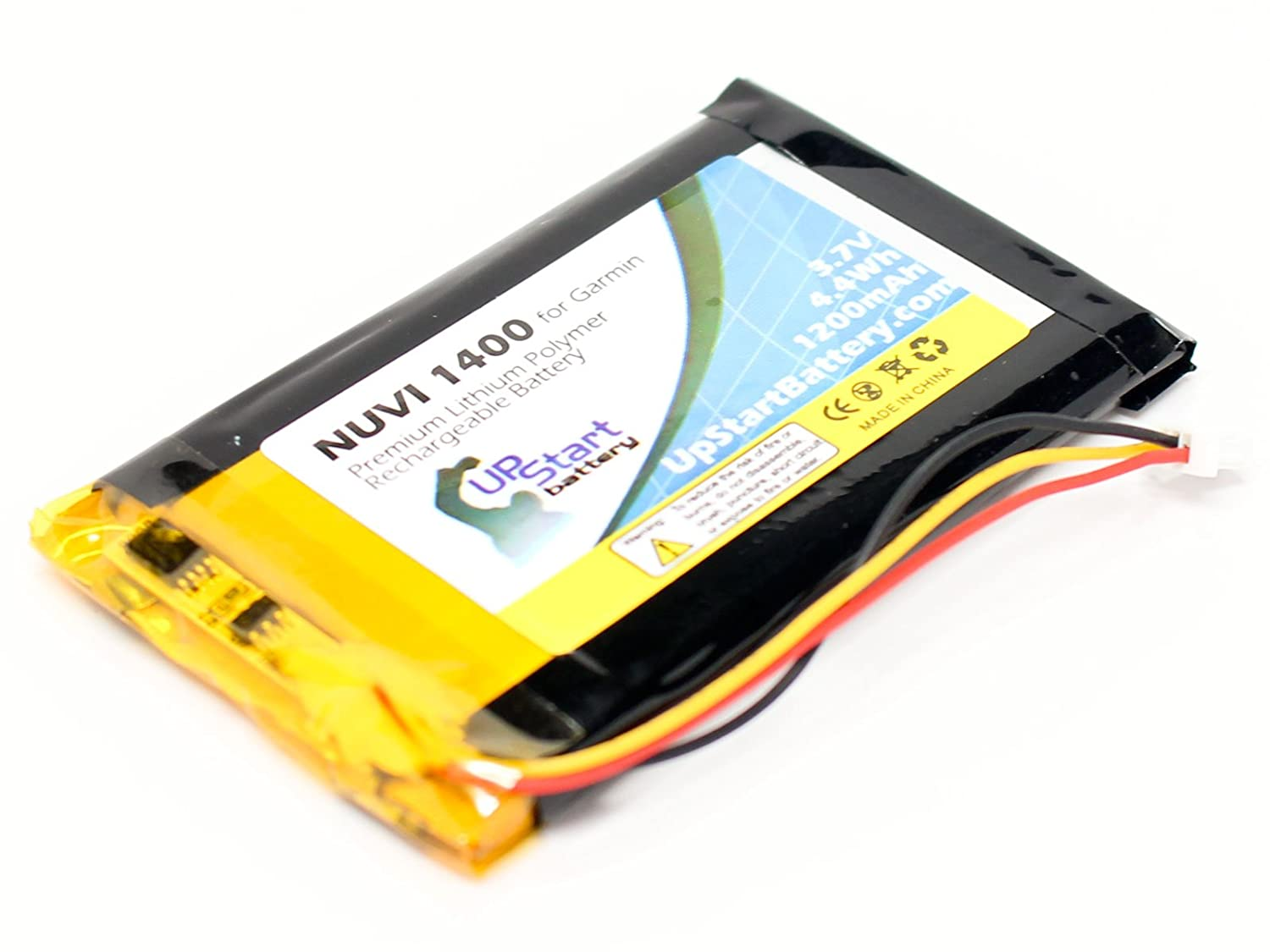 1200mAh, 3.7V, Lithium Polymer Garmin Nuvi 1390 Battery with Tools Replacement for Garmin GPS Navigator Batteries