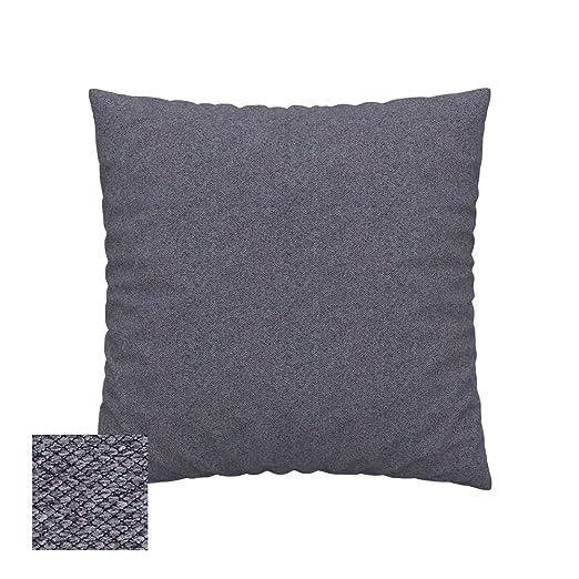 Soferia - IKEA Funda para cojín 50x50, Nordic Anthracite ...