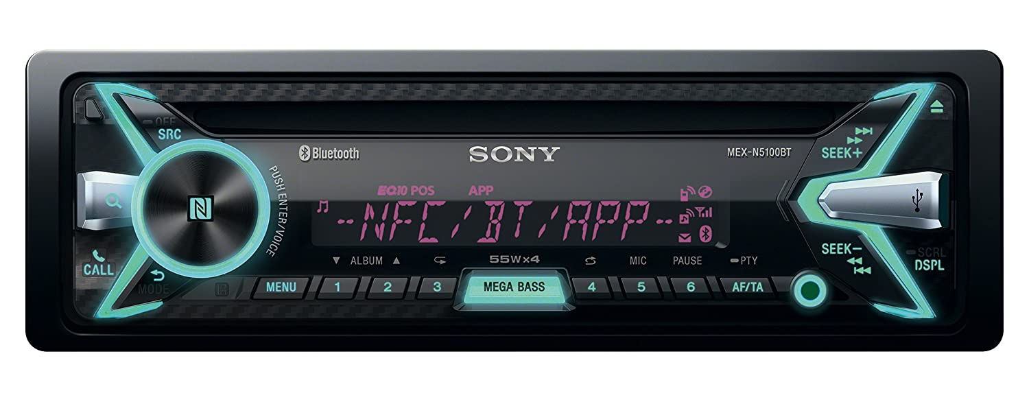 sony mex nbt bluetooth car stereo system front amazon co sony mex n5100bt bluetooth car stereo system front amazon co uk electronics