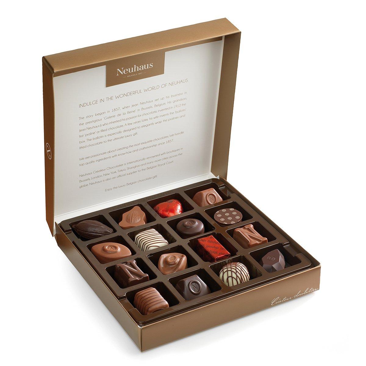 Amazon.com : Neuhaus Chocolate Bronze Collection : Grocery ...
