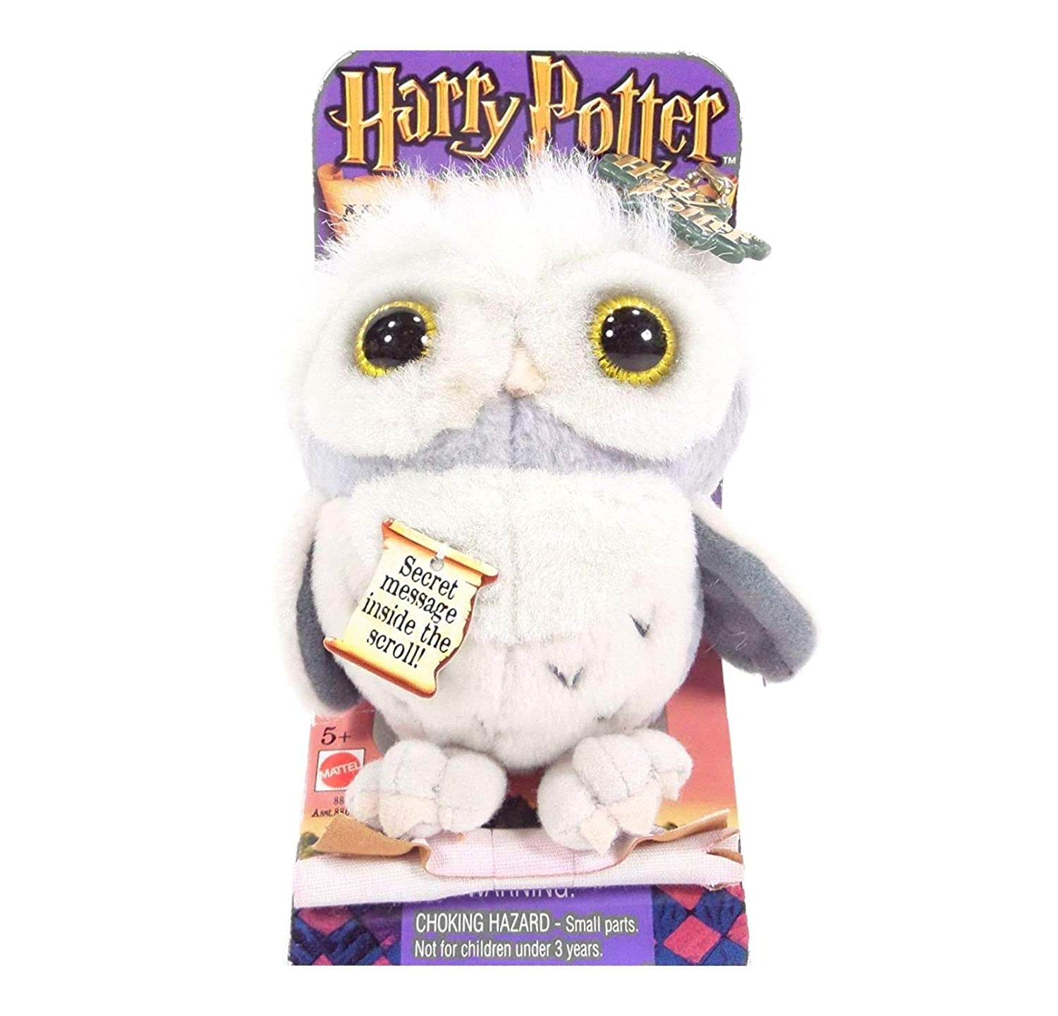 Harry Potter 10cm Messenger Owl Plush Keychain or Attach to Backpack B007SIIK7M