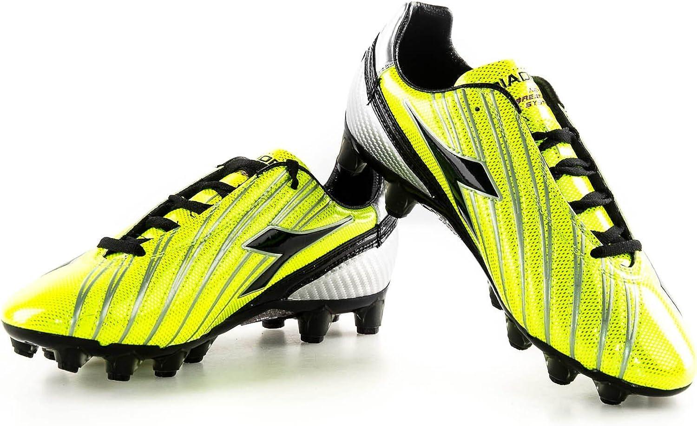 Scarpe calcio DIADORA SOLANO GX14 scarpetta gialla con