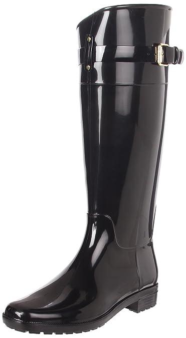 Lauren Ralph Lauren Women's Rossalyn II PVC Rain Boot,Black,5 ...