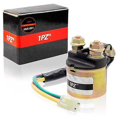 1PZ SNX-001 Starter Solenoid Relay For Honda Fourtrax Rancher TRX-350 2000-2016 / TRX-420-FA 2009-2015 / TRX-420-FE 2007-2015 / TRX-420-FM 2007-2015: Automotive