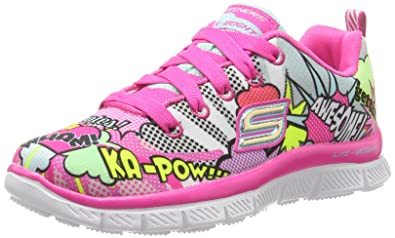 bf9e18f6ed633a Skechers Appeal-Pop Pizazz, Formateurs Fille: Amazon.fr: Chaussures ...