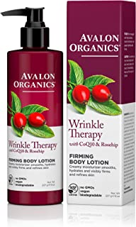 product image for Avalon Organics Wrinkle Therapy Ultimate Firming Body Lotion, 8-Ounce Bottle