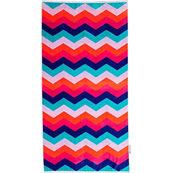 Sunnylife rectangular algodón toalla impreso manta de playa piscina manta: Amazon.es: Deportes y aire libre