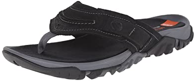 de26804cab15 Merrell Telluride Thong Men 8 Black