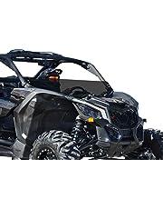 SuperATV Heavy Duty Half Windshield for Can-Am Maverick X3 900 / Turbo/X