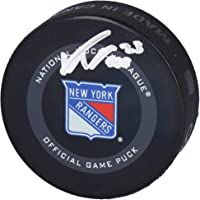 $59 » Adam Fox New York Rangers Autographed 2019 Model Official Game Puck - Fanatics Authentic Certified - Autographed NHL Pucks