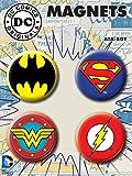 Ata-Boy DC Comics Classic Logos Set of 4