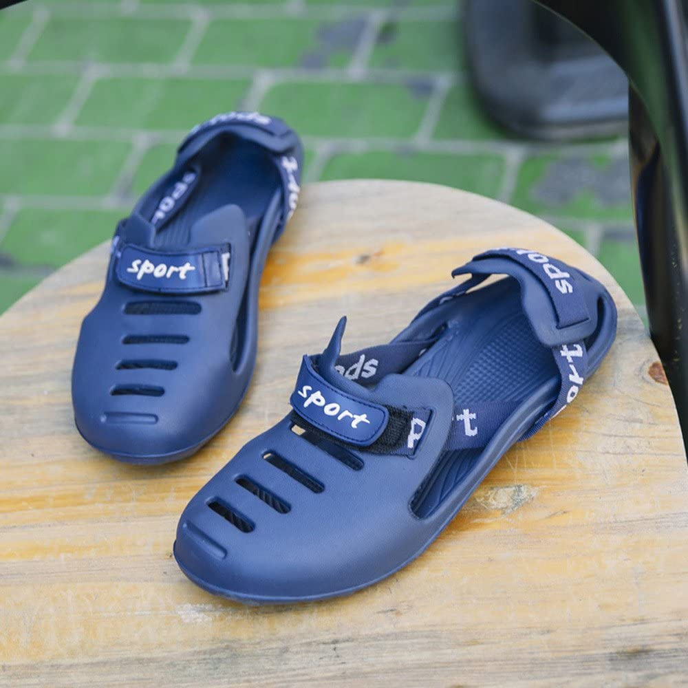 Foncircle Men Sandal❤️Sandals Leather Breathable Summer Casual Water Shoes