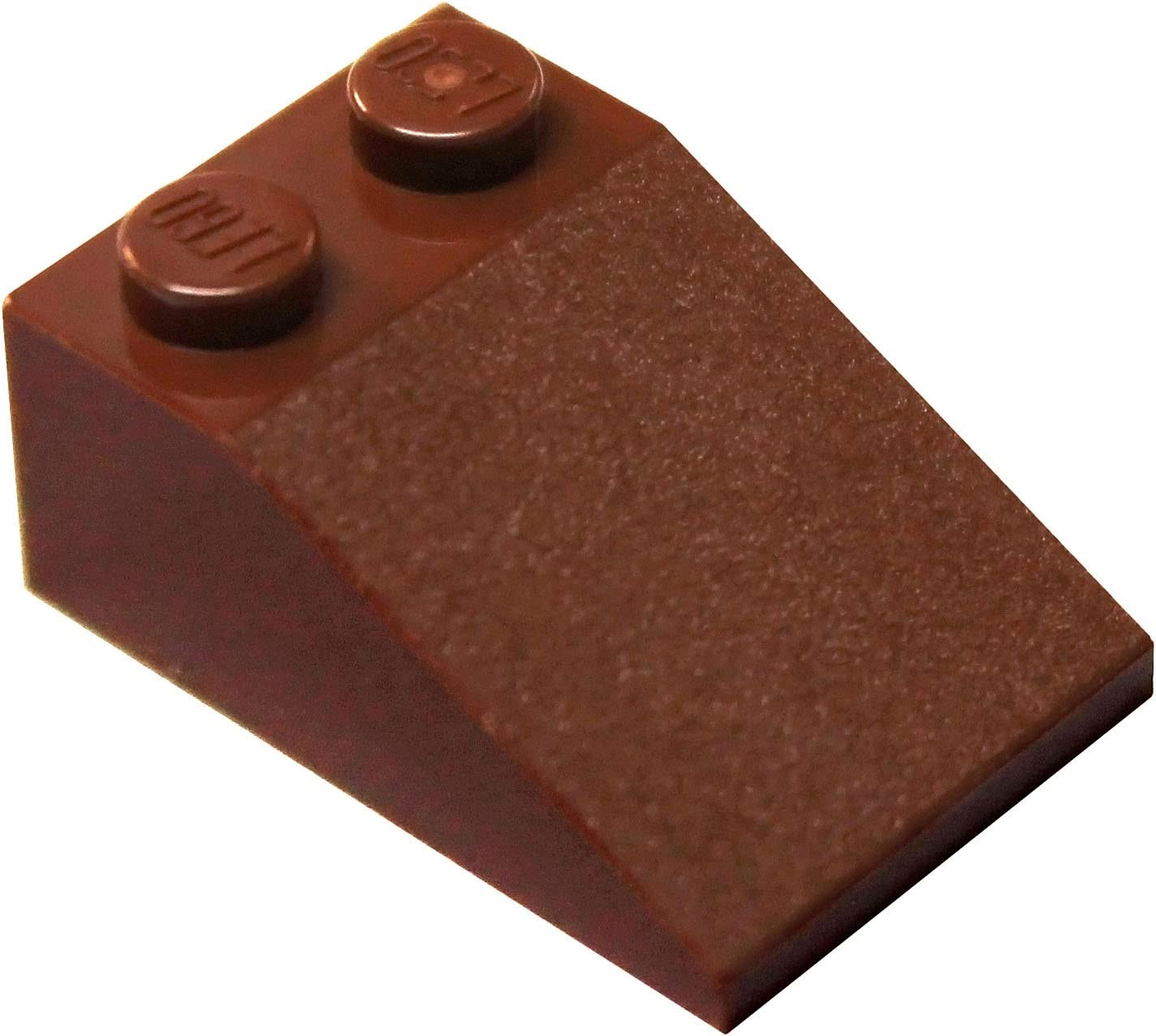 LEGO Parts and Pieces: Reddish Brown 2x3 33 Slope x200