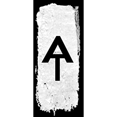 American Vinyl Black Appalachian Trail Vertical White Blaze Sticker (at Hike Hiking Camp Hiker): Automotive