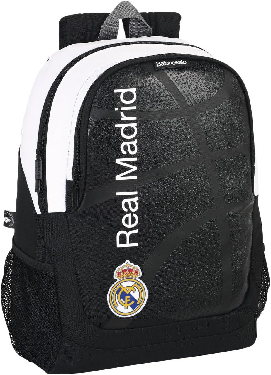 Real Madrid - Basket, Mochila Grande 44 cm (SAFTA 611674665): Amazon.es: Juguetes y juegos
