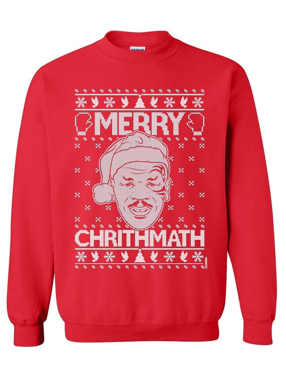 Manateez Mike Tyson's Merry Christmas Crew Neck Sweatshirts 50%OFF