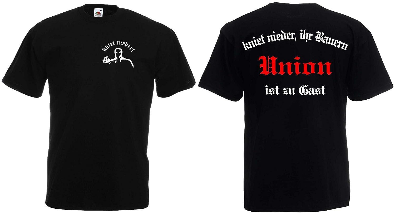 world-of-shirt Herren T-Shirt Union Ultras kniet nieder