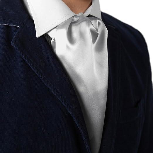 Wedding & Formal Occasion Boys' Accessories Boys Cravat Wedding Ascot Necktie Formal Party One Size Silky Silver Grey