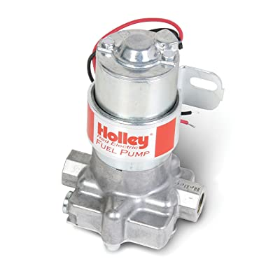 Holley Electric Fuel Pump 6145-2 Red Auto: Automotive