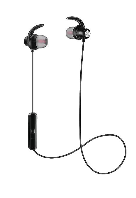 Limxems Auricolari Bluetooth Magnetici Sport,Cuffie Sportive Stereo Senza  Fili Bluetooth 4.1, Ideali per 01a4482795f1