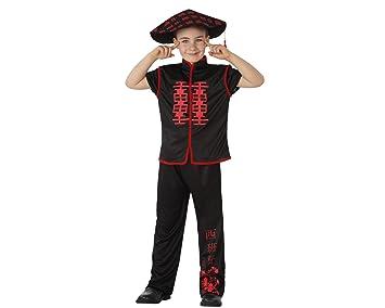 Atosa Disfraz de Chino Negro para niños: Amazon.es: Juguetes y juegos