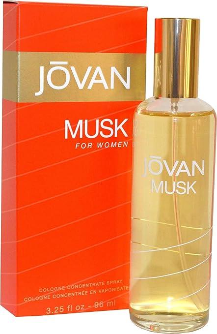 Jovan Musk para mujer 96 ml Colonia Spray Su fragancia con