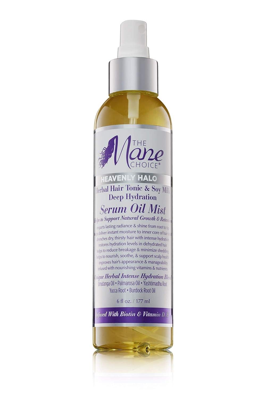 The Mane Choice Heavenly Halo Herbal Hair Tonic & Soy Milk Deep Hydration Serum Oil Mist