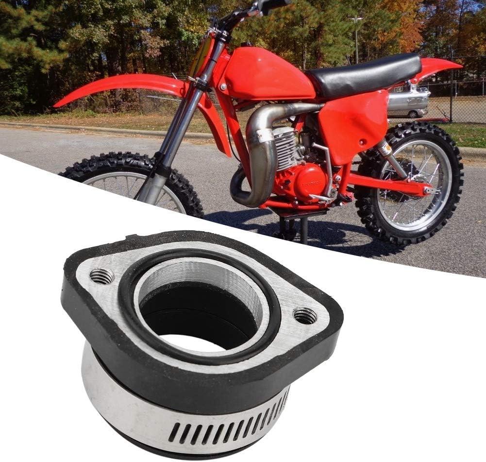KIMISS Motorrad Vergaser Ansaugkr/ümmer Achsmanschette Gummi Adapter f/ür VM24 28mm InnendurchmesserDirekte Passform
