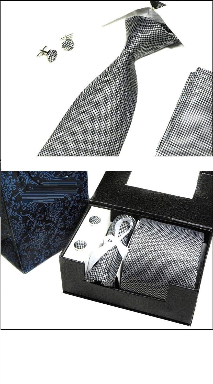 Wsreyj Hombres corbata formal abogado de negocios corbata traje de ...