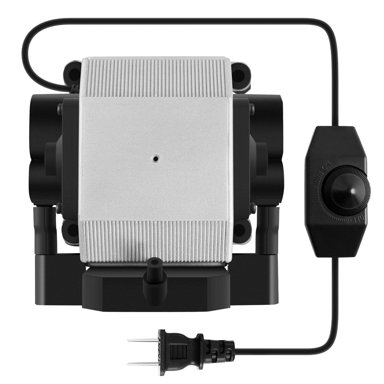 VIVOSUN 332 GPH Air Pump 14W 4 Outlet 21L/min for Aquarium and Hydroponic Systems by VIVOSUN