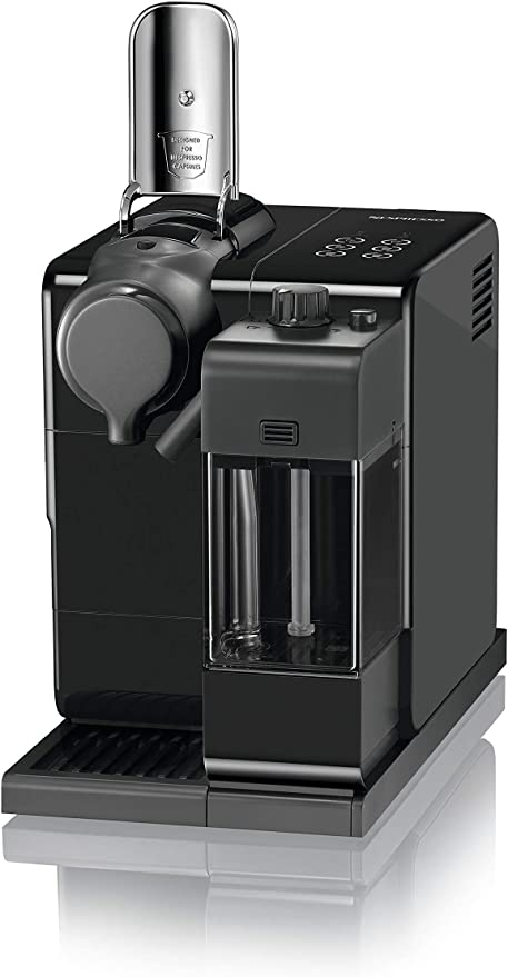 Nespresso DeLonghi Lattisima Touch Animation EN560.B - Cafetera monodosis de cápsulas Nespresso con depósito de leche, 6 recetas seleccionables, 19 bares, apagado automático, color negro: Amazon.es: Hogar