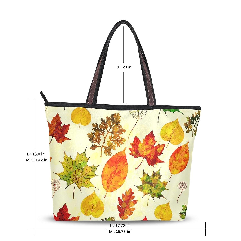 WHBAG New Design Handbag For Women,Retro Elegant Leafs,Shoulder Bags Tote Bag