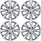 "BDK Hubcaps Wheel Covers for Toyota Corolla 16"" – Four (4) Pieces Corrosion-Free & Sturdy – Full Heat & Impact Resistant…"