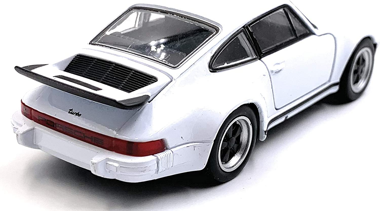 Onlineworld2013 Porsche 911 Turbo 930 Modelo de Auto Deportivo Auto Auto Escala Verde 1:34 con Licencia