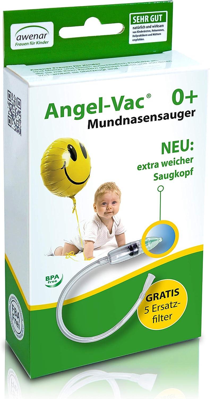 Angel-Vac - Aspirador nasal y bucal: Amazon.es: Bebé