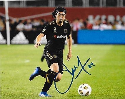 1fc358d0c Image Unavailable. Image not available for. Color  Lee Nguyen Autographed  Photo - Club LAFC 8x10 MLS ...