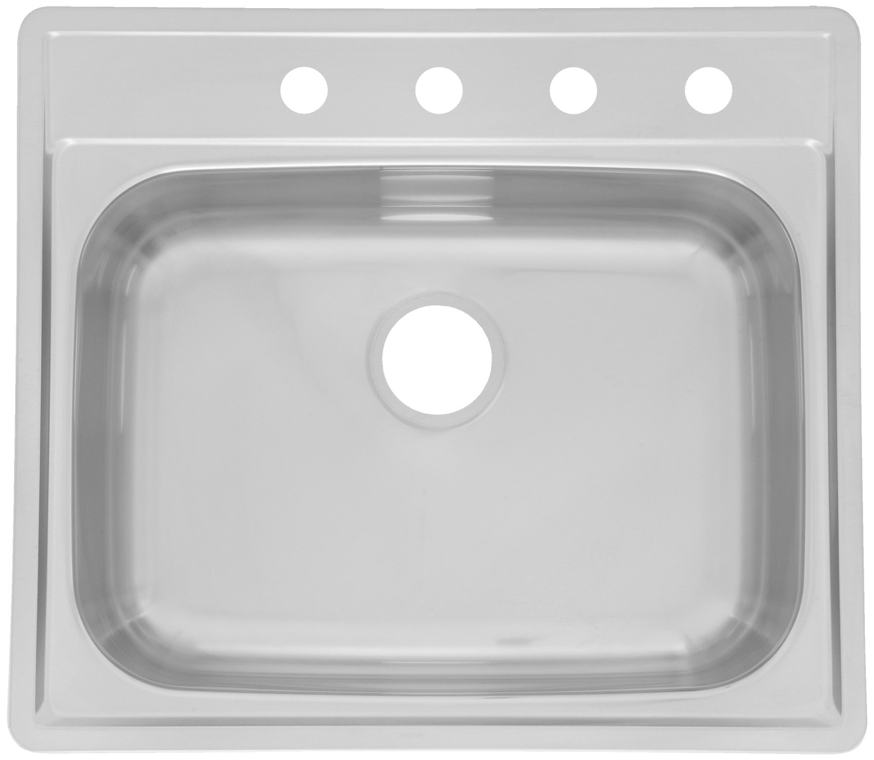 Kindred SSK854NB Single Bowl Stainless Steel 21.5x22in. Topmount Sink
