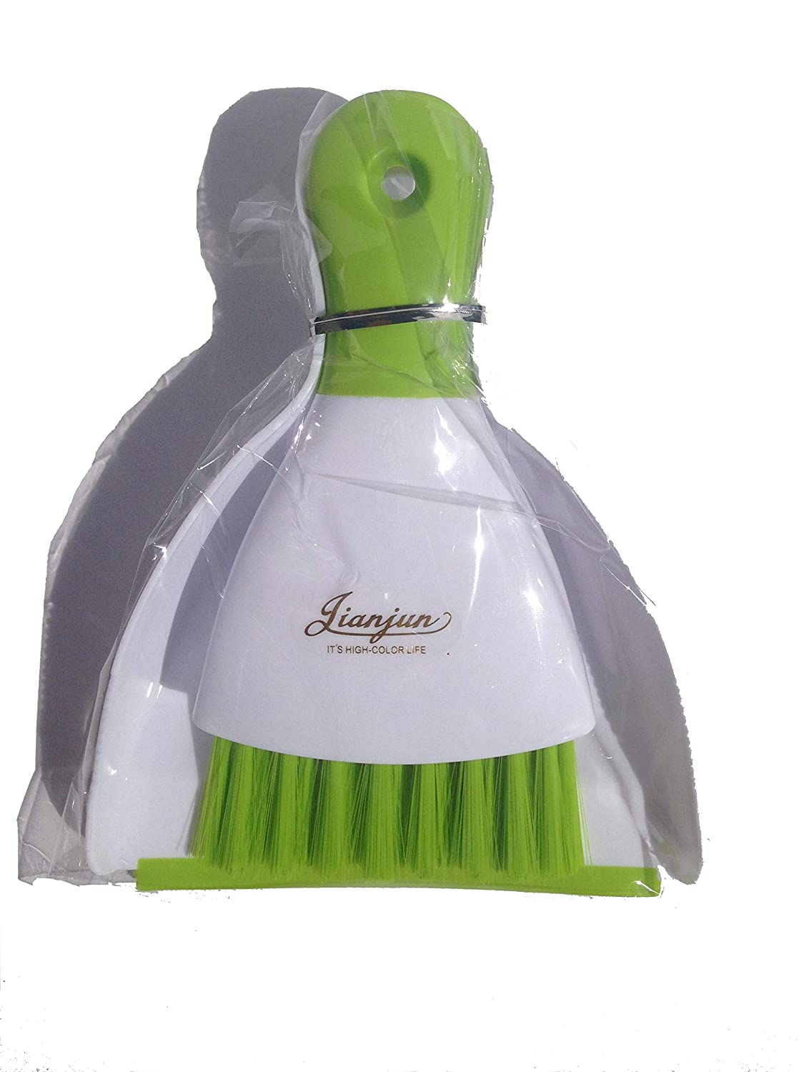 Mini Dustpan for Cleaning Home, Shop, RV, Boat (Green)