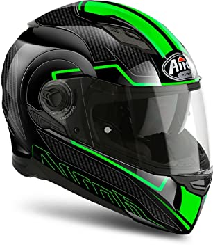 Airoh Casco integral movement-s Faster L Negro/Verde