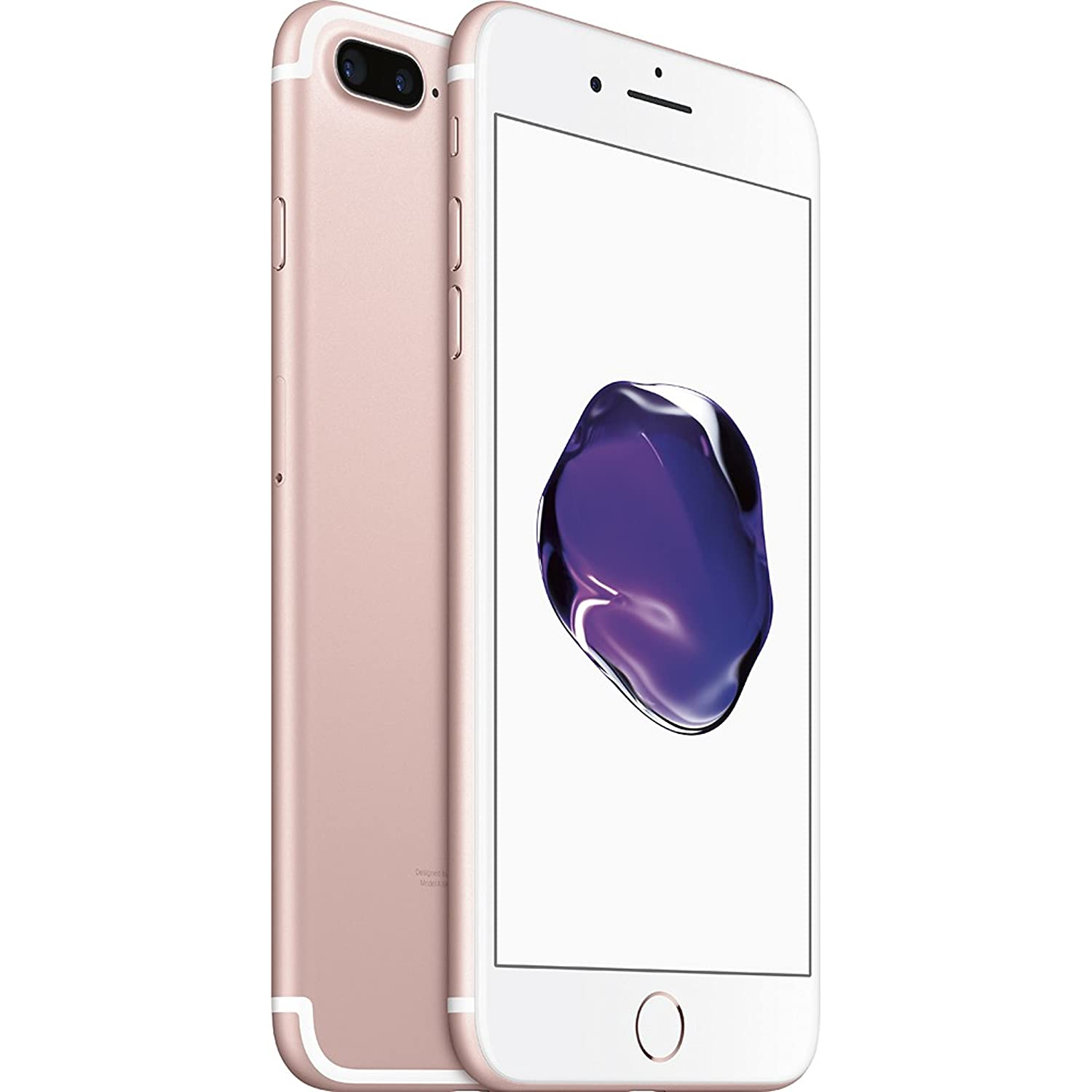 Apple iPhone 7 Plus, GSM Unlocked, 32GB - Rose Gold (Renewed)