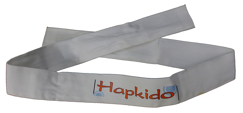 世界製品ホワイトHapkidoスポーツタイヘッドバンド   B07DRTV94K