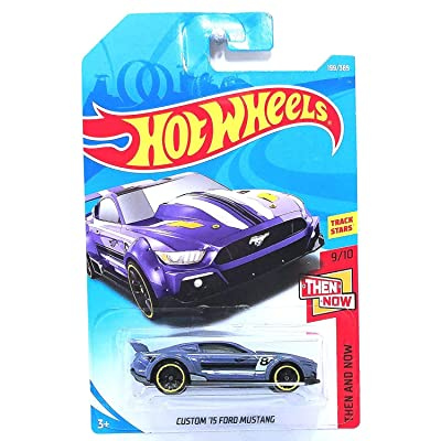 Hot Wheels 2020 50th Anniversary Then And Now Custom '15 Ford Mustang 199/365, Purple: Toys & Games