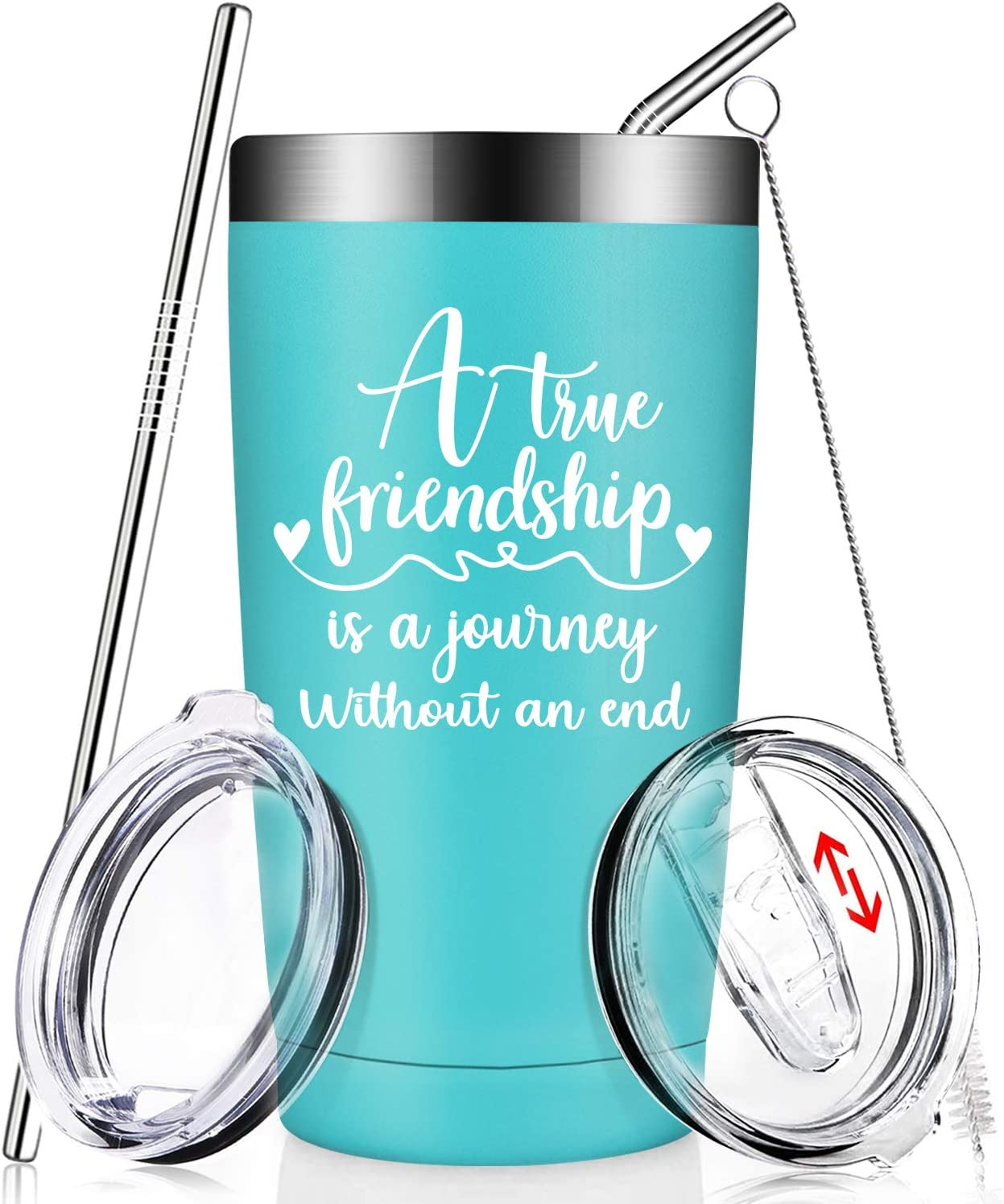 Best Friend Tumbler Best Friends are Sisters We Choose Mug Floral Travel Coffee Cup Gift for Her BFF Gifts Friends Forever Bestie BPA Free